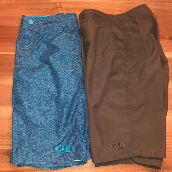 The North Face Other - EUC 2 Pair Boys North Face Shorts M adjustable